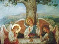 Пятидесятница.  День Пресвятой Троицы.