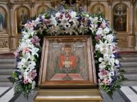 Молебен перед чудотворной иконой Божией Матери «Неупиваемая Чаша»