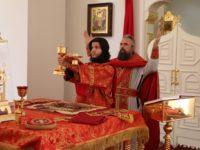 Память Священномученика Германа, епископа Вольского, и с нимМихаила пресвитера, Саратовских