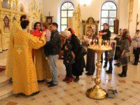 Неделя 21-я по Пятидесятнице, память  мученика Лонгина Сотника, иже при Кресте Господни