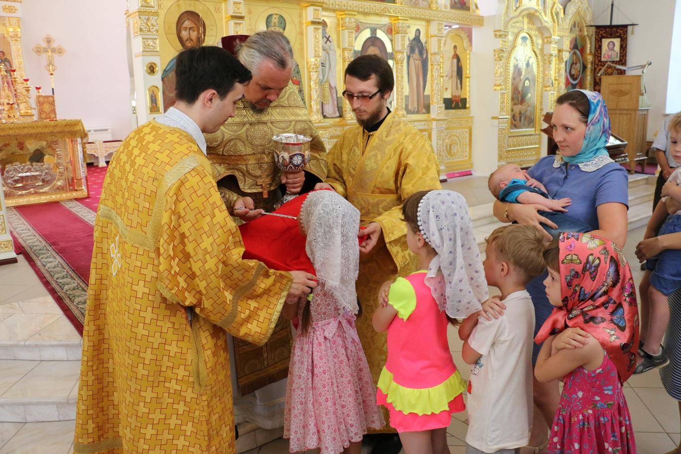 Неделя 7-я по Пятидесятнице. Праздник Положения  честной ризы Пресвятой Богородицы во Влахерне