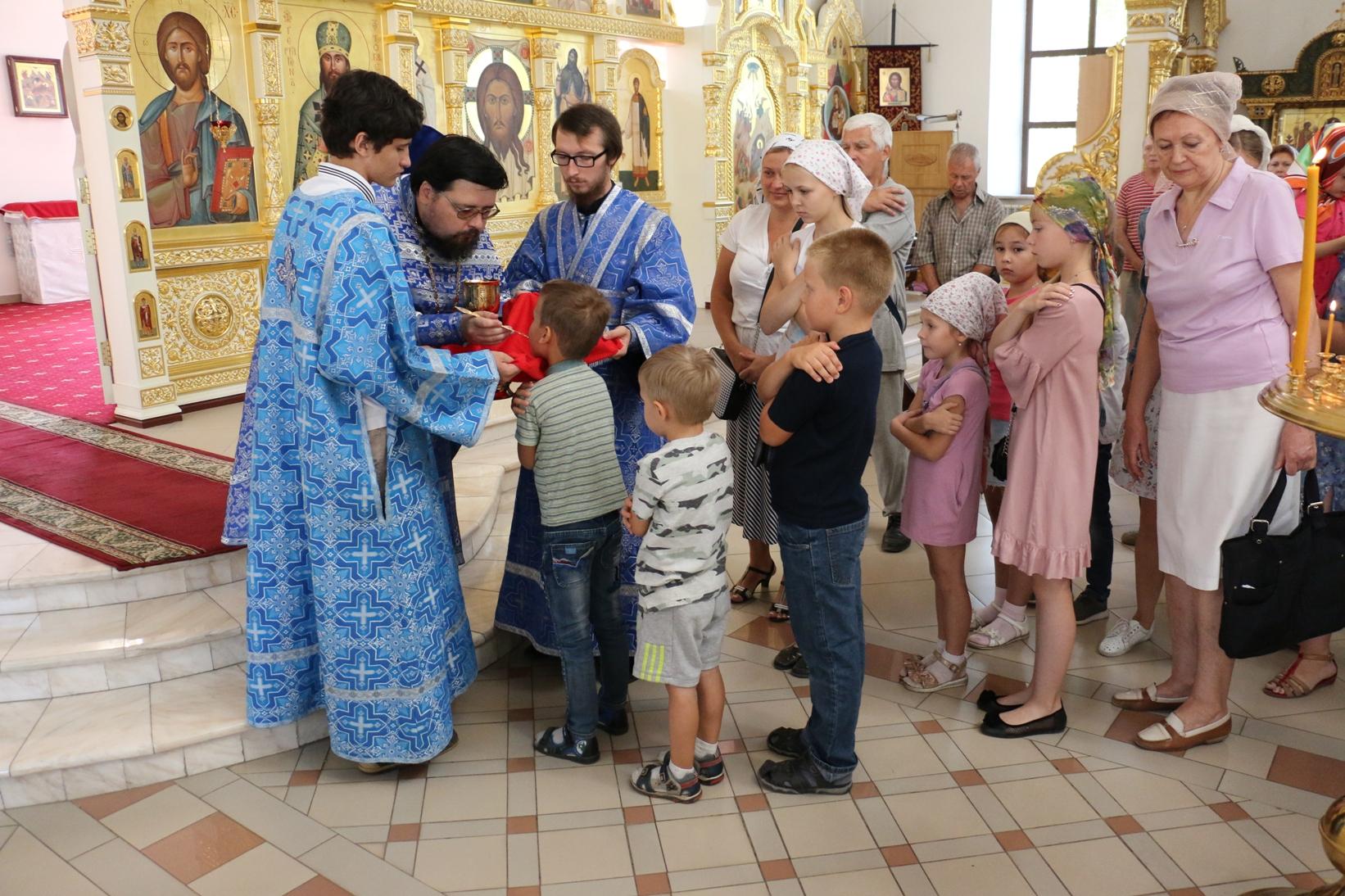 Неделя 14-я по Пятидесятнице. Попразднство Успения Пресвятой Богородицы. День памяти пророка Самуила