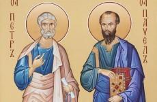 Память Свв. первоверховных апостолов Петра и Павла (†67)