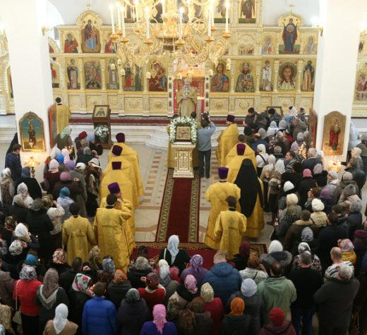 Великое освящение храма в честь Рождества Христова г. Саратова